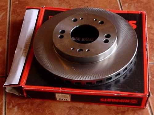 Brake disc, front, FTO GS, GR, RVR, 5-stud 256mm Vented